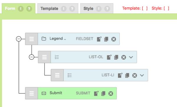 CF7 Skins - Form Tab Visual Editor Starter Template