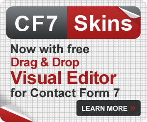 Drag & Drop Visual Editor for Contact Form 7