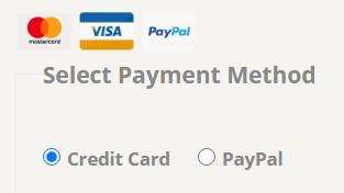 CF7 Skins Payment method